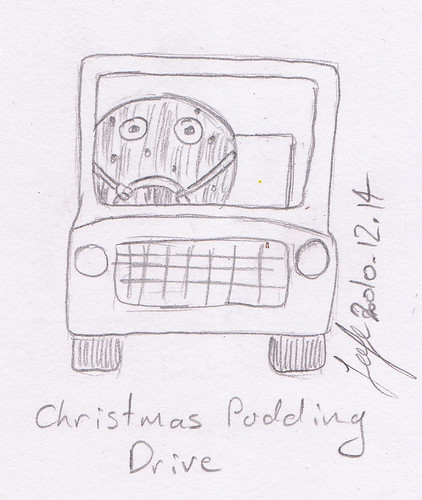 Christmas Pudding Drive 2