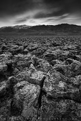 Four! - Devil's Golf Course, Death Valley National Park, California (Jim Patterson Photography) Tags: california travel light sunset blackandwhite usa texture nature monochrome clouds landscape patterns salt erosion deathvalley devilsgolfcourse deathvalleynationalpark nikkor1224mm inyocounty nikond300 jimpattersonphotography jimpattersonphotographycom seatosummitworkshops seatosummitworkshopscom