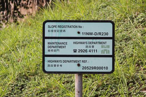 Slope registration plaque