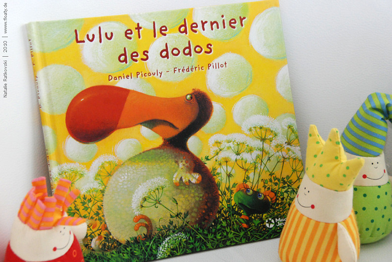 Lulu et le dernier des dodos, cover