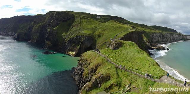 Trekking na Irlanda do Norte