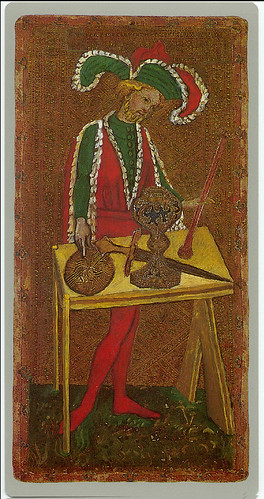 001-El mago-Cary-Yale Visconti Tarot Deck