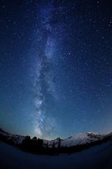 The Milky Way Over Mount Rainier (jeremyjonkman) Tags: park sky night canon way stars photography eos mark over jeremy mount national ii rainier 5d milky jonkman washindton