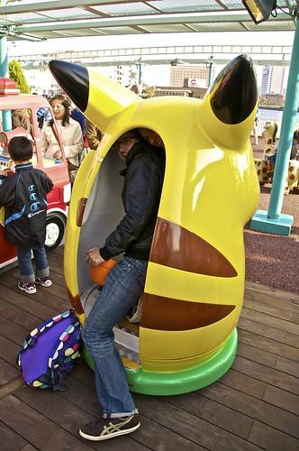 Dentro de un Pikachu