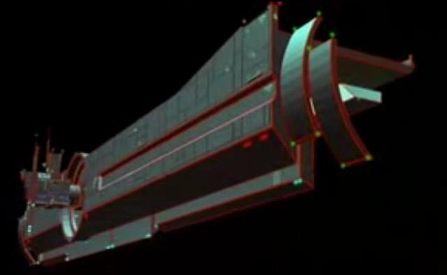 TRON 1982 nave del CCP