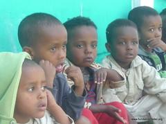 Niños en un hospital en Etiopía