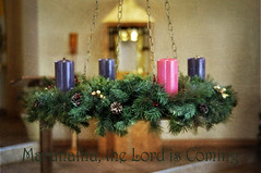Maranatha (charlotteinkennesaw  Here and there) Tags: catholic adventwreath tabernacle