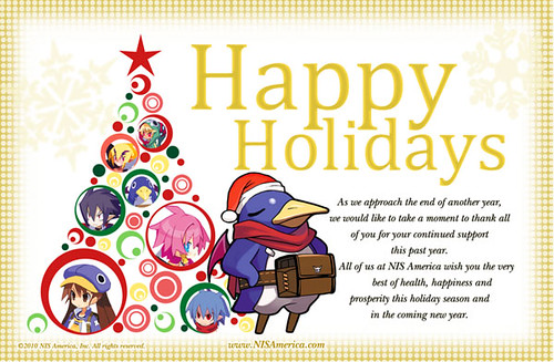 NIS America: Happy Holidays