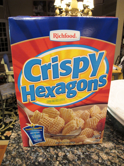 Crispy Hexagons
