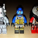 LEGO Collectible Minifigures Series 1 Robot vs  Space UFO