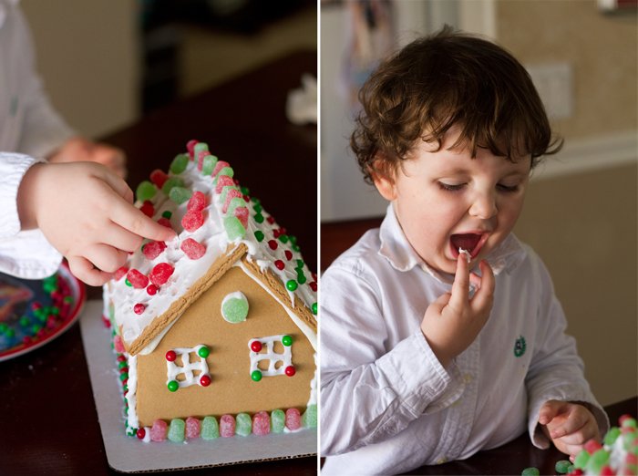 12-19-10 Hys first day at church and gingerbread house (18)