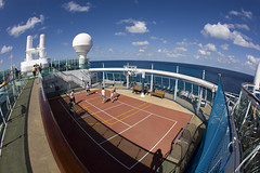 Jewel of the Seas (blueheronco) Tags: cruise ship basketballcourt fisheyelense jeweloftheseas royalcaribbeancruises