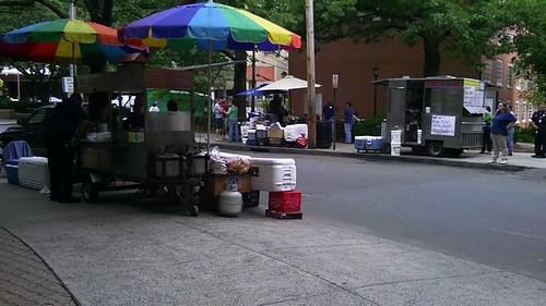 Food carts!