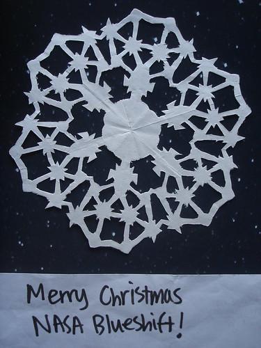 bluedian's snowflake