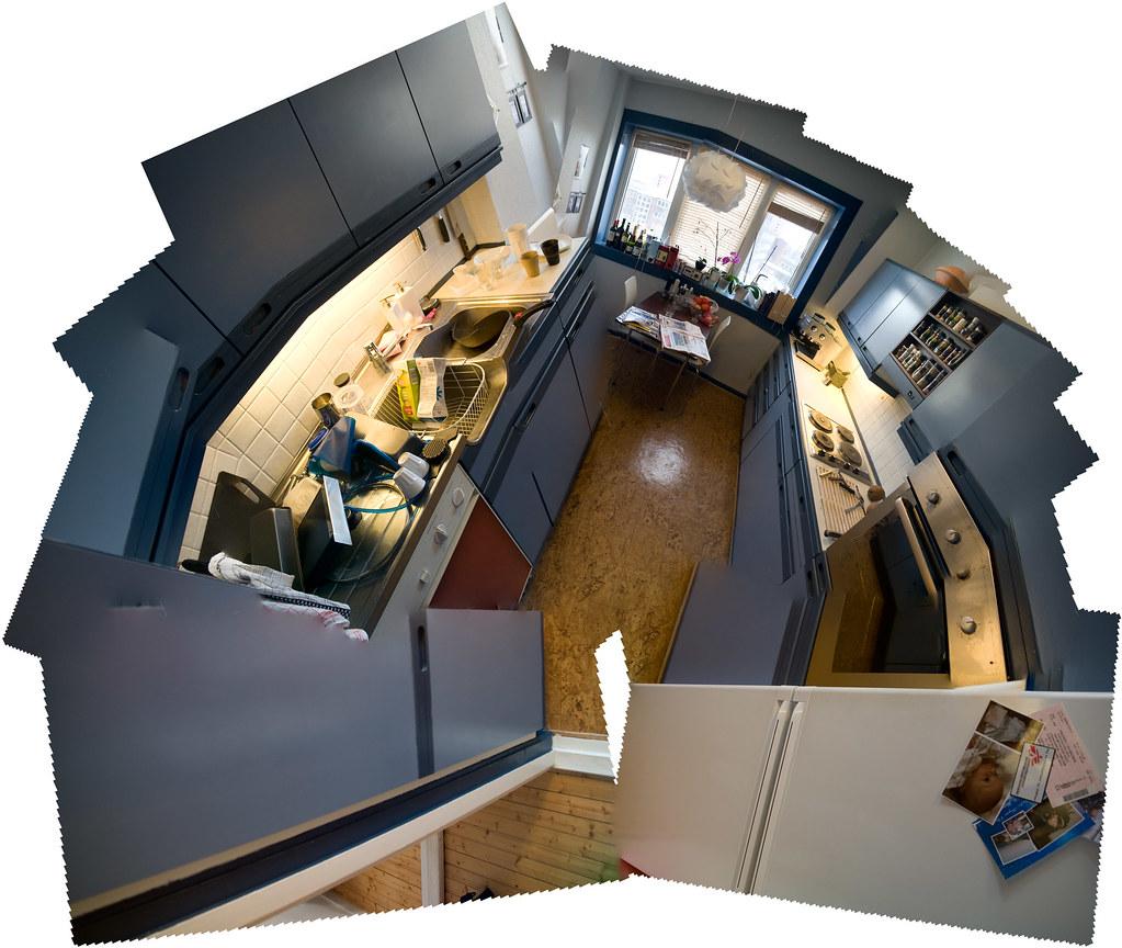 Gammelt kjøkken