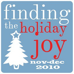 finding holiday joy
