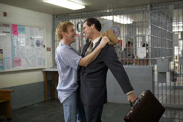 Ewan McGregor is the object of Jim Carrey's affections in I Love You Phillip Morris.