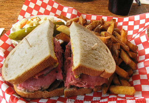 Dunn's Smoked Meat Sandwich 1