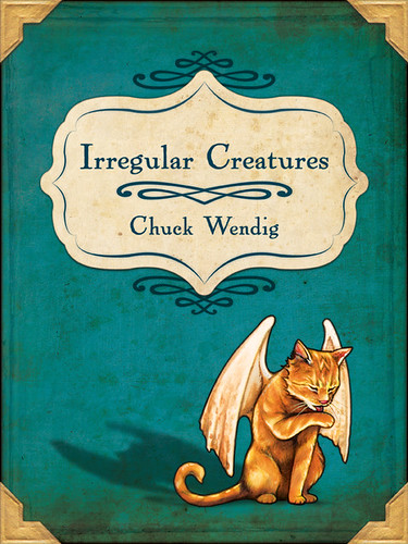 Irregular Creatures Cover, By Amy Hauser