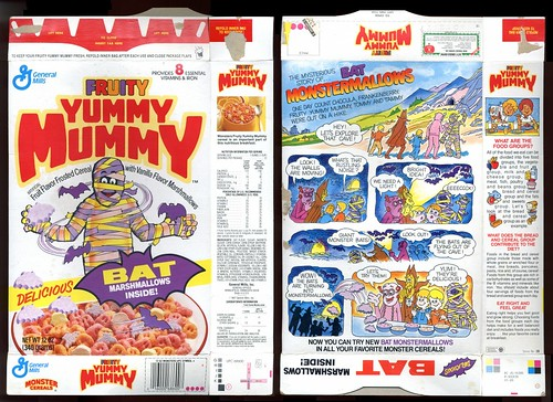 1989 Yummy Mummy w Bat  Marshmallows