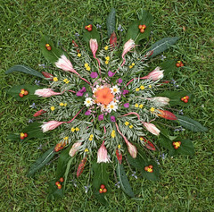 Peace and Harmony (gooseflesh) Tags: flower peace mandala wreath harmony
