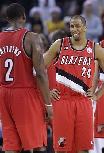 Trail Blazers Warriors Basketball