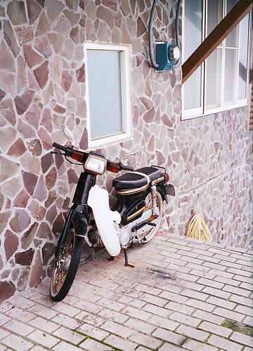 很會爬樓梯的摩托車