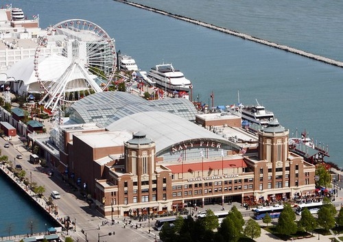 Navy Pier is home to a number of Chicago attractions, including the Children's Museum.