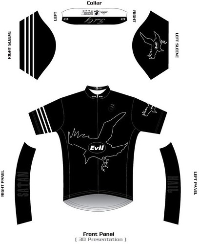 2011 Collaboration jersey - front