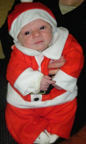 logans 1st christmas