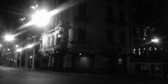 Esquina (Lara Lew) Tags: street city building night lights luces noche calle edificios buenosaires downtown centro ciudad nocturna