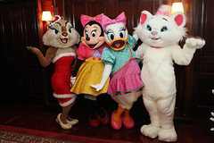 Clarice, Minnie Mouse, Daisy Duck and Marie