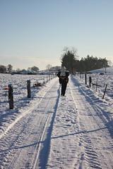 newtown snow walk
