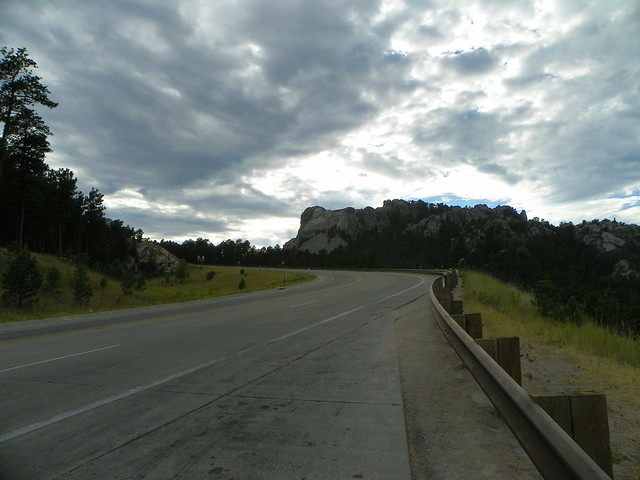around Mount Rushmore, South Dakota