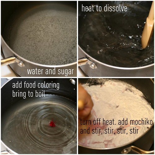 Sweet Mochi Making - Process 1