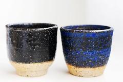 Black and Blue Teacups (I), Iskandar Jalil