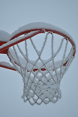Basket goal (totheforest) Tags: winter vinter goal sweden lule norrbotten ml nikkoraf50mmf18d basketgoal nikond90 bergnset basketkorg