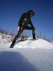 IMGP0111 (Karhu1) Tags: schnee snow shiny jacket nylon snowsuit jacke overall skianzug