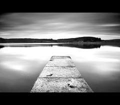 The Usk Reservoir ... again ...  3/365 (Gareth Scanlon) Tags: uk trees sky bw lake water wall 30 wales clouds photoshop project landscape concrete woods nikon raw slow forestry 10 jetty horizon reservoir breconbeacons tokina stop nd shutter land vista pro 365 af nikkor brecon beacons scape usk gareth scanlon f28 density retaining powys dx atx neutral cs4 77mm campod project365 10stop nd110 1116mm d300s tokina1116mm garethscanlon trescastle
