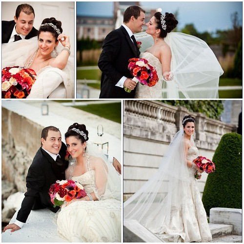 Bridal Styles real bride Nerejda and her new husband Filgen, image: Faith Dugan Photography