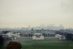 Hidden City (Polly-Thomas) Tags: london fog cityscape greenwich wideangle nikond90