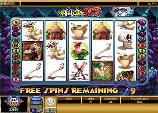 free Witch Dr slot free spins