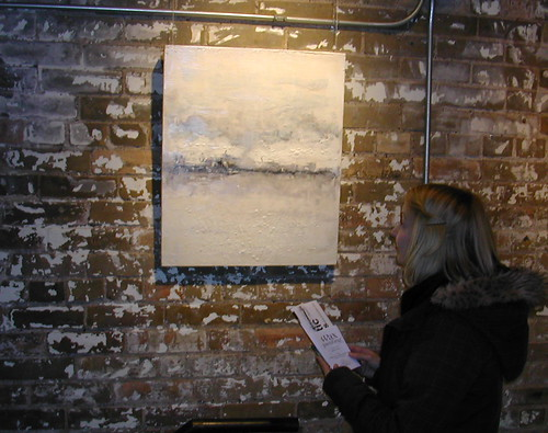 Toronto artist Ann Shier paintings at the Distillery district