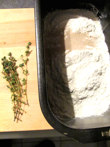 Rich White Dinner Rolls with Thyme
