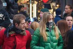 newyork scarf manhattan timessquare newyearseve greenjacket