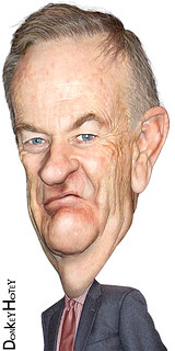 From flickr.com/photos/47422005@N04/5335084162/: Bill O'Reilly - Caricature