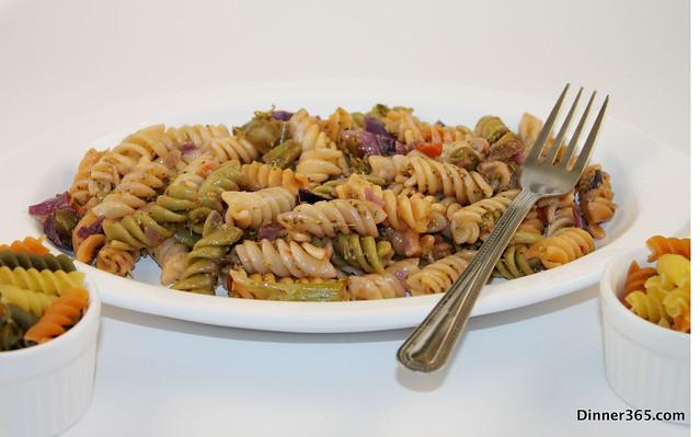 Day 9 - Veggie Pasta