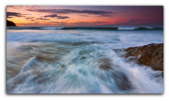Llevame contigo (saki_axat) Tags: longexposure sunset sea sky costa seascape beach nature water clouds marina canon landscape atardecer coast mar sand agua rocks waves playa tokina arena cielo nubes olas bizkaia hitech euskalherria basquecountry rocas 1224 bakio 50d gnd8