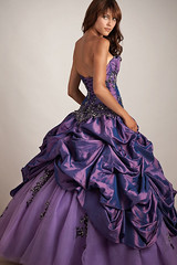 Plum Purple Ballgown with Full Tulle and Taffeta Skirt with Full Built In Petticoat (Sabrina Satin1) Tags: feminine fantasy crossdresser effeminate ballgown crossdressingfantasy