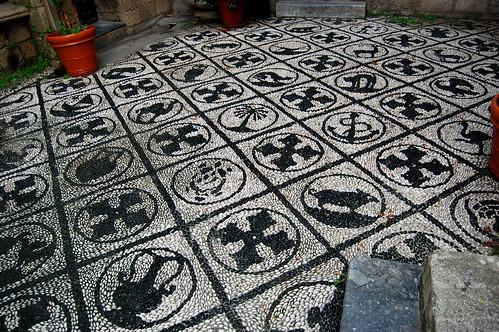 Mosaic floors in Rhodes